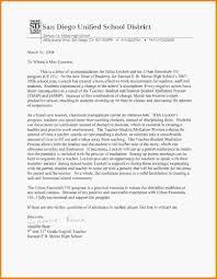 Recommendation Letter Sample For Teacher From Parent Letter Of Recommendation For High Student Recommendation
