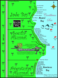 Tulsa Map Map Of Jade Bay South Akumal U0026 Aventuras Akumal Bill In Tulsa Com