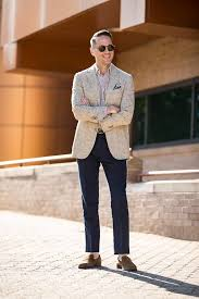 casually tailored summer office attire done right he spoke style