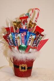 halloween gift ideas for teachers christmas candy bouquets christmas santa pail bouquet bouquets