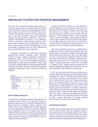 chapter five obstacles to effective strategic management