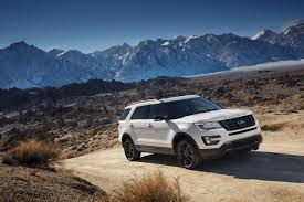 Ford Explorer White - photos 2017 ford explorer xlt gets sport appearance package the