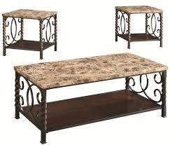 lockhart brown marble coffee table set steal a sofa furniture