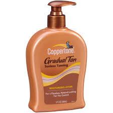 Tanning Bulbs For Sale Coppertone Gradual Tan Sunless Tanning Moisturizing Lotion 9 Fl