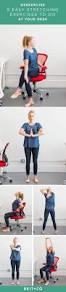 Yoga At The Office Desk 18 Best Work Fit Images On Pinterest