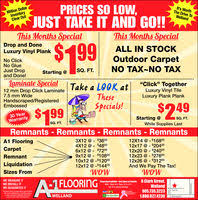 A 1 Carpet A 1 Flooring Welland In Welland On 905 735 3223 Shopping
