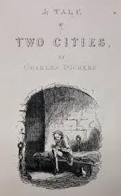 a tale of two cities charles dickens first edition rare book