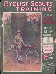 1910 cyclist scouts training boy scouts the online bicycle museum