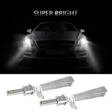 how to install led lights in car headlights led headlights h1 h4 h7 super bright bulbs all in one conversion kit