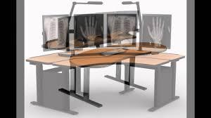 Adjustable Height Workstation Desk by Adjustable Height Computer Desk Youtube