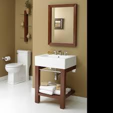 Bathroom Vanity Console by Decolav Infusion Bathroom Vanity Shelving And Mirror Set Wall