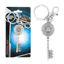 crystal key rings images Ready player one crystal key pewter key chain entertainment earth jpg