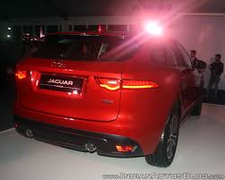 jaguar jeep jaguar f pace launched in india at inr 68 40 lakhs