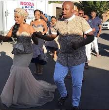 traditional wedding dj naves holds his traditional wedding photos ghafla south africa