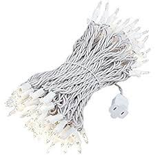 How To Fix Christmas Lights When Half Are Out Amazon Com Holiday Wonderland 100 Count Clear Christmas Light Set