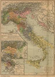 Road Map Of Italy by