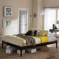 south shore step one king size platform bed in pure white 3050248