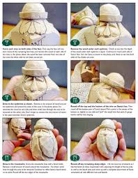 carving santa ornaments wood carving patterns woodarchivist