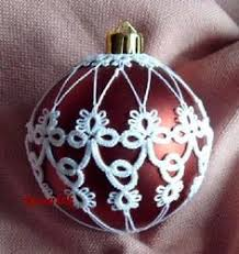 tatted christmas ornaments links to art of the lakes gallery