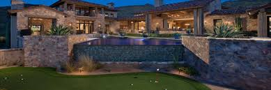 backyard putting green lighting artificial grass arizona artificial turf synthetic grass store