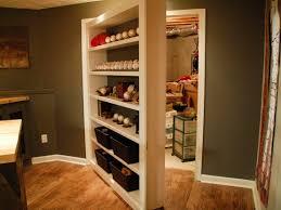 Bookcase Closet Doors Secret Bookcase Door For Storage Closet Stashvault