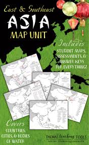 Southeastern Asia Map by Map Of Asia That Can Be Used In Asia Study For Year 6 Australian