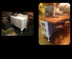 buffet kitchen island repurposed antique buffet made into kitchen island for the home