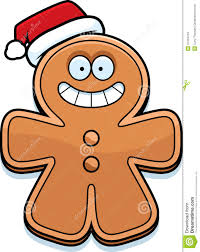 christmas cartoon gingerbread man stock vector image 47334759