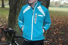 cycling jacket blue dhb women s flashlight windproof xt cycling jacket