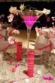 deco table rose et gris mariage fuchsia gris blanc etoile de rose