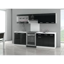 cuisine discount meuble de cuisine discount ultra cuisine complate l 2m40 noir