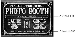 photo booth sign personalized chalkboard photo booth sign chalkboard print photo