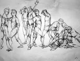 Drawing Games Gesture Drawings Yoga Steve By Wingedillusion Deviantart Com On