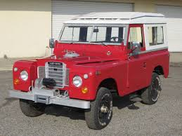 land rover santana 88 single family safari top 10k mile 1973 land rover 88 siii bring