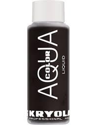 aquacolor liquid 30 ml kryolan professional make up