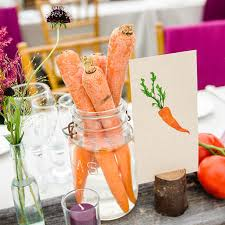 summer wedding centerpieces rustic vermont summer wedding carrots as table centerpieces
