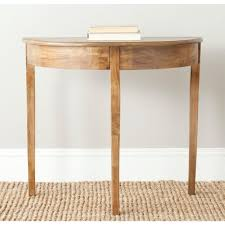 Safavieh Console Table Safavieh Sema Oak Console Table Amh6639c The Home Depot