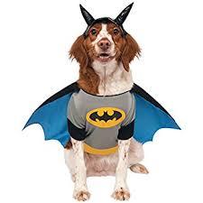 Halloween Costume Large Dogs Amazon Dc Comics Pet Costume Classic Batman Large Pet Supplies