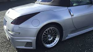 nissan 350z deep dish rims 2005 nissan 350z convertible 6 speed manual track edition gold