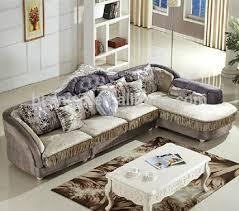 wooden corner sofa set cloth living room sofa set wood frame corner sofa post modern