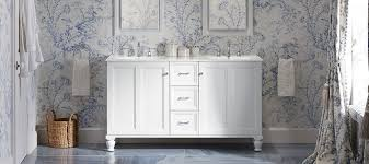 bathroom kohler beauty begins with eye catching storage