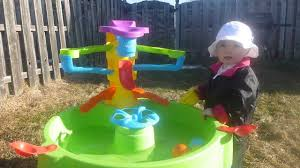step2 busy ball play table water fun with the step2 busy ball play table youtube