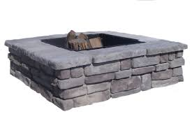 Fire Pit Parts by Square Fire Pit Kits Natural Concrete Products