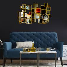 Decorative Mirrors For Living Room by Popular Metal Decorative Mirrors Buy Cheap Metal Decorative