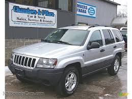 2004 jeep grand cherokee laredo 4x4 in bright silver metallic