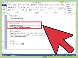 How To Create A Resume On Word 100 How To Word A Resume Resume Format 2016 12 Free To Download