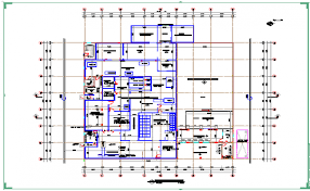 factory layout design autocad factory layout