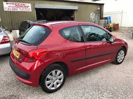 peugeot 207 red used peugeot 207 hatchback 1 4 16v s 3dr in plymouth devon