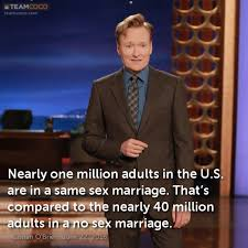 Same Sex Marriage Meme - gay marriage jokes teamcoco com