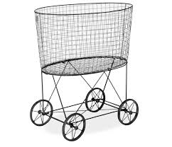 Ideas For Laundry Carts On Wheels Design Fresh Laundry Cart With Wheels And Hanging Rac 20329